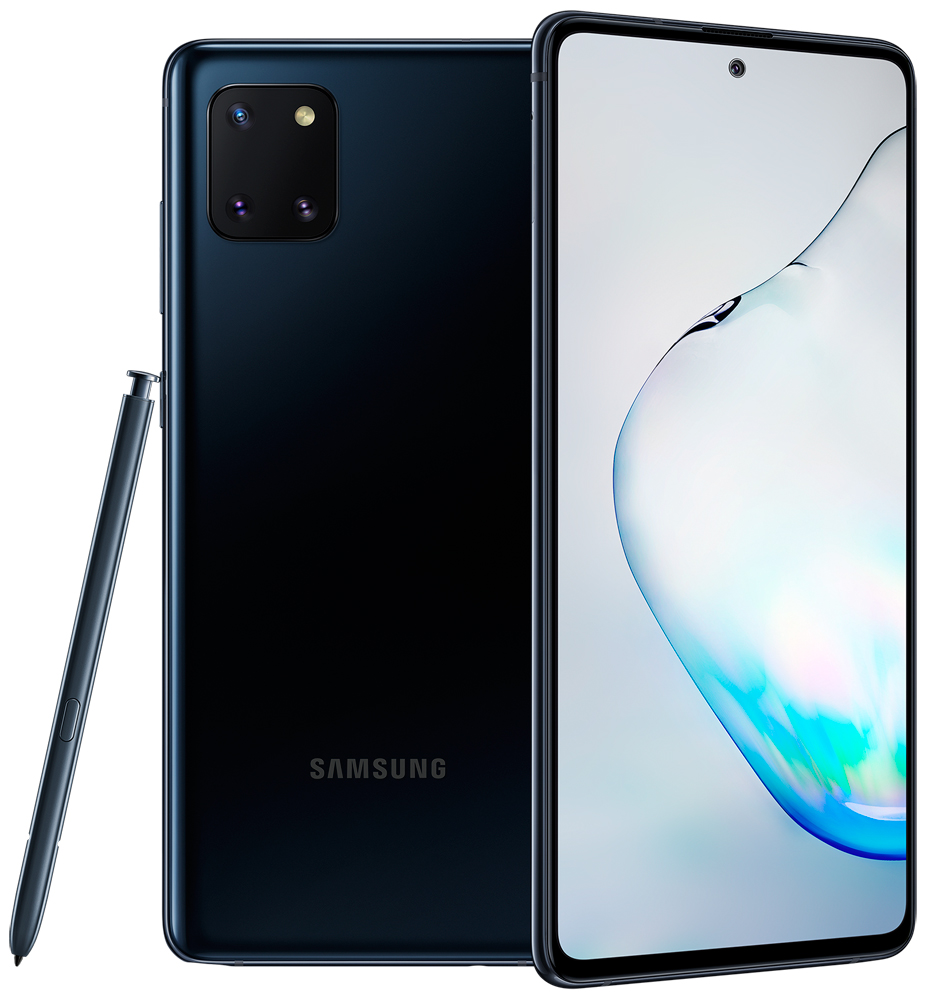 Смартфон Samsung N770 Galaxy Note10 Lite 6/128Gb Black фото