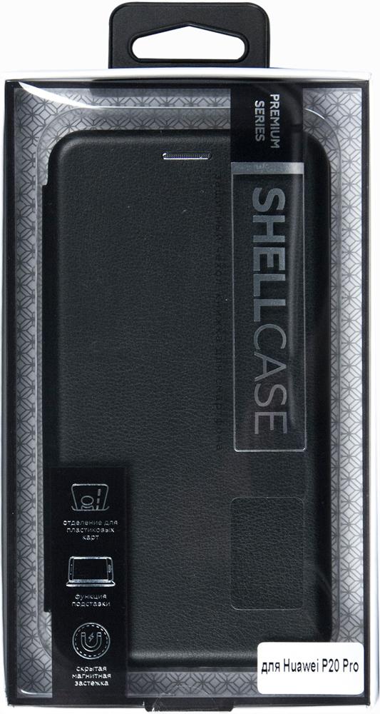 Чехол-книжка Smarterra ShellCase для Huawei P20 Pro Black чехол книжка vili shellcase для huawei p20 pro black