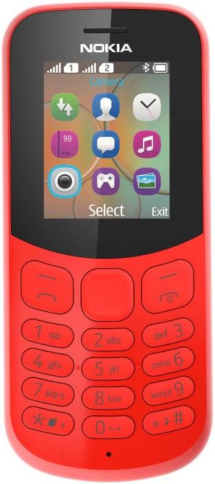 Мобильный телефон Nokia 130 2017 Dual sim Red сотовый телефон nokia 130 dual sim 2017 grey