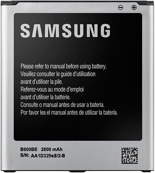 Съемный аккумулятор Samsung EB-B600BEBECRU Galaxy S4 samsung samsung eb pg850b fennec fox 8400мач