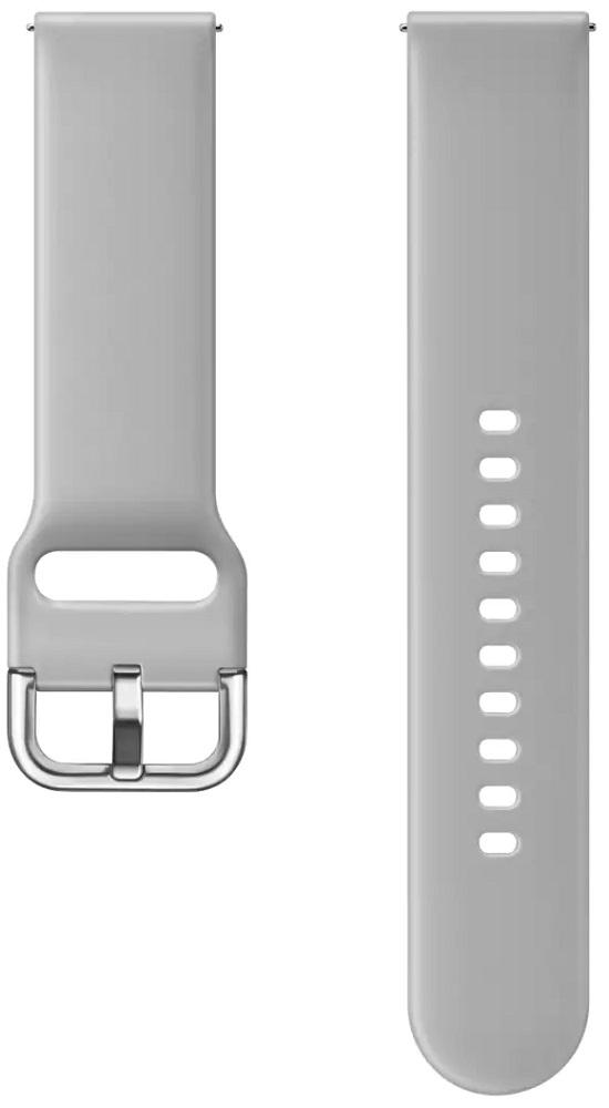 Ремешок для умных часов Samsung Galaxy Watch Active ET-SFR50M спортивный Grey фото