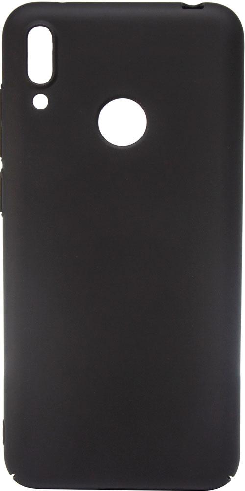 Клип-кейс MediaGadget Huawei Y7 2019 пластик Black наушники mediagadget aero twins at400c red