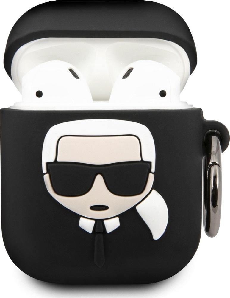 Чехол Karl Lagerfeld Airpods 2 Black