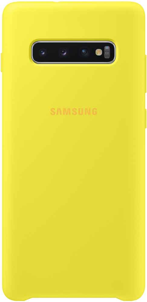 Клип-кейс Samsung Galaxy S10 Plus TPU EF-PG975TYEGRU Yellow цена