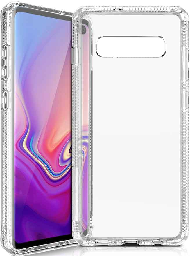 Клип-кейс Itskins Samsung Galaxy S10 Plus White клип кейс uniq samsung galaxy s10 white