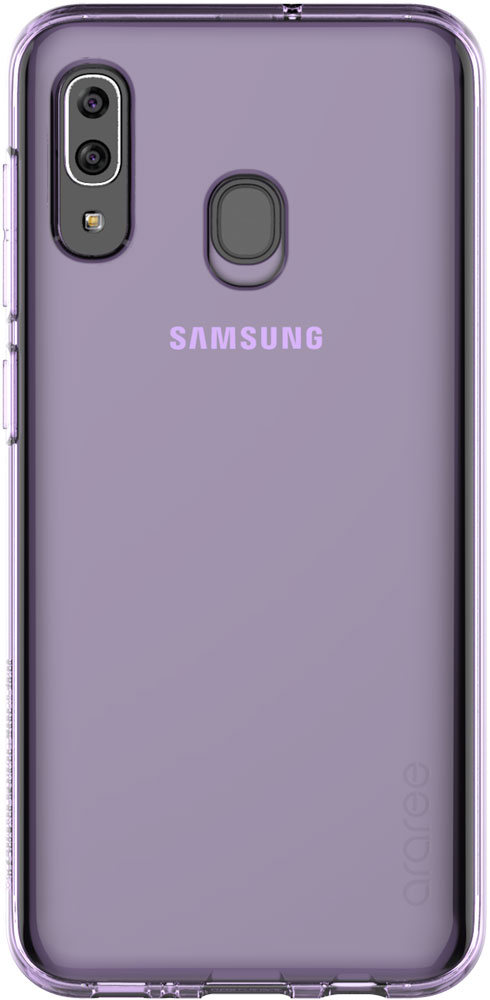Клип-кейс Araree Samsung Galaxy A30 TPU GP-FPA305K Purple клип кейс araree samsung galaxy a10 gp fpa105k purple