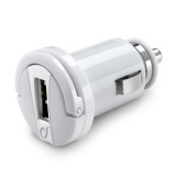 фото АЗУ Cellularline USB + Дата-кабель microUSB 2.1A white