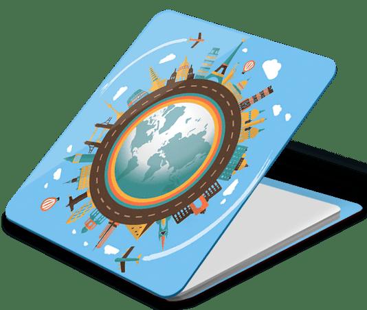 Держатель наклейка WTF Smart Sticker универсальный страны (1.12) фото