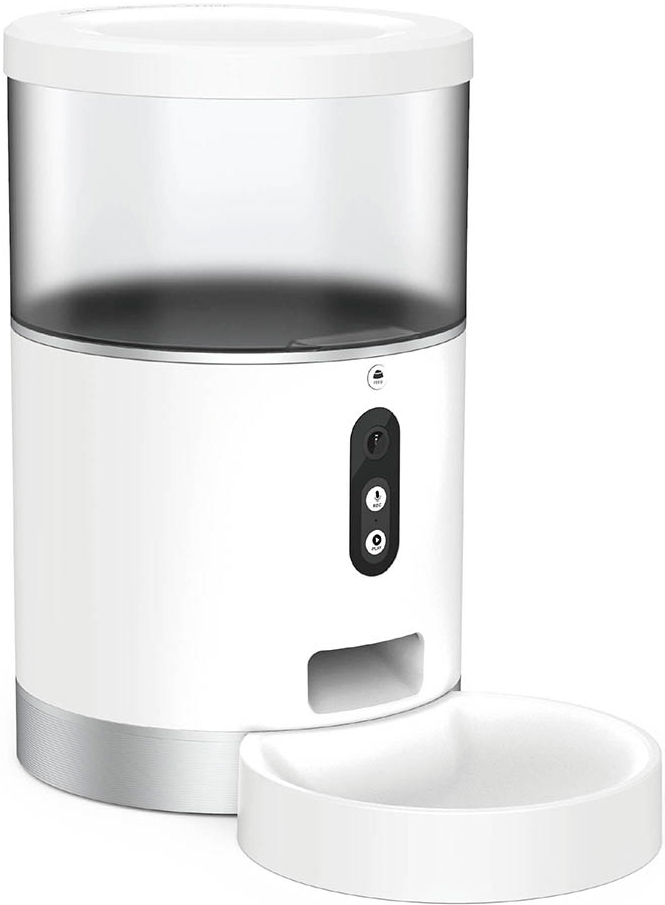 Умная автоматическая кормушка HIPER IoT Pet Feeder White