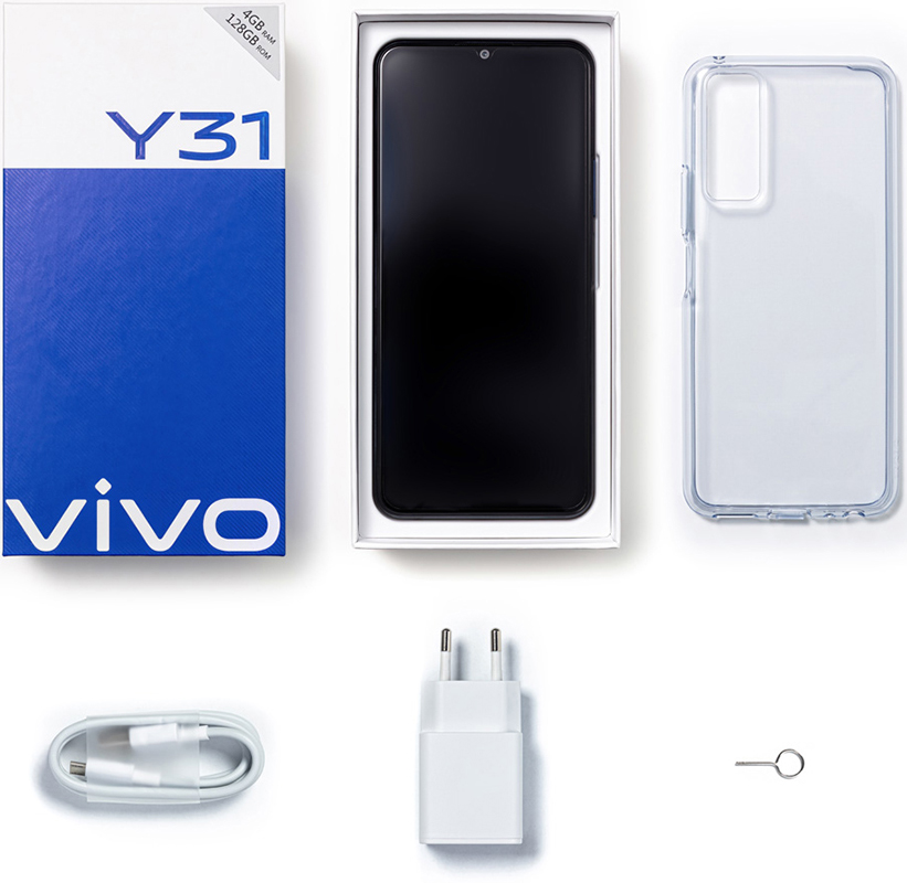 Смартфон Vivo Y31 4/64Gb Black фото 7
