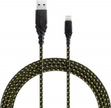 фото Дата-Кабель Energea NyloGlitz USB-Lightning Apple MFI 1,5м Lime