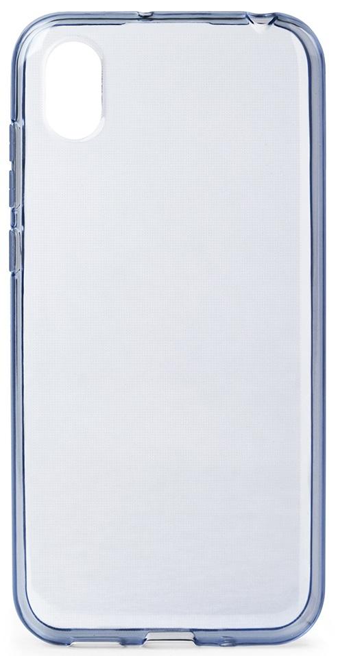 Клип-кейс Gresso Honor 8S прозрачный Blue клип кейс gresso honor view 20 light blue