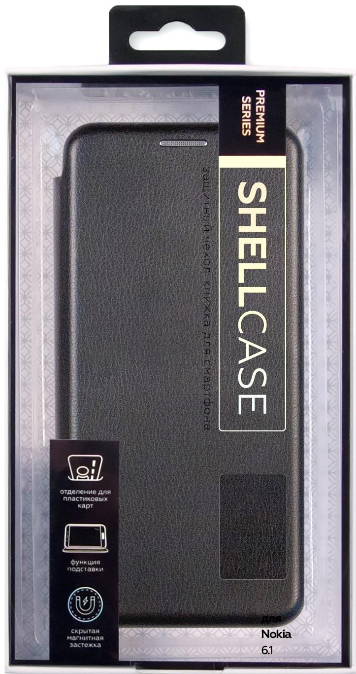 Чехол-книжка Smarterra ShellCase для Nokia 6.1 black все цены