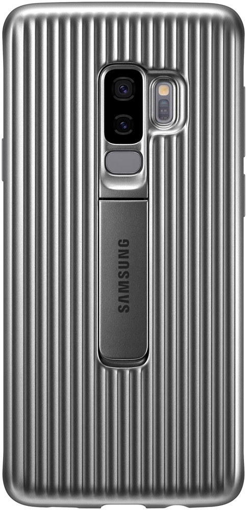 Клип-кейс Samsung Galaxy S9 Plus Protective Standing Cover Silver