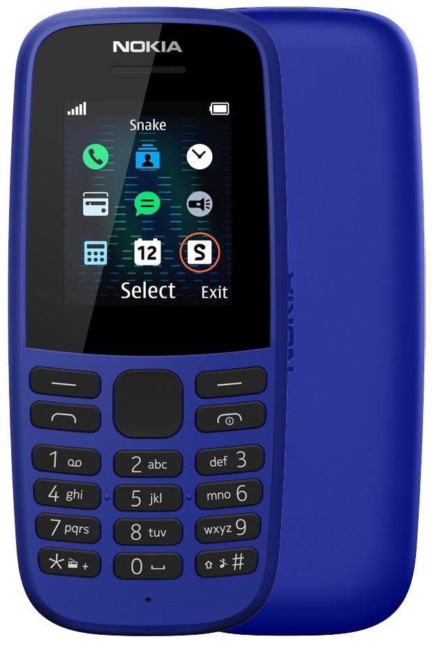 Мобильный телефон Nokia 105 (без ЗУ) blue