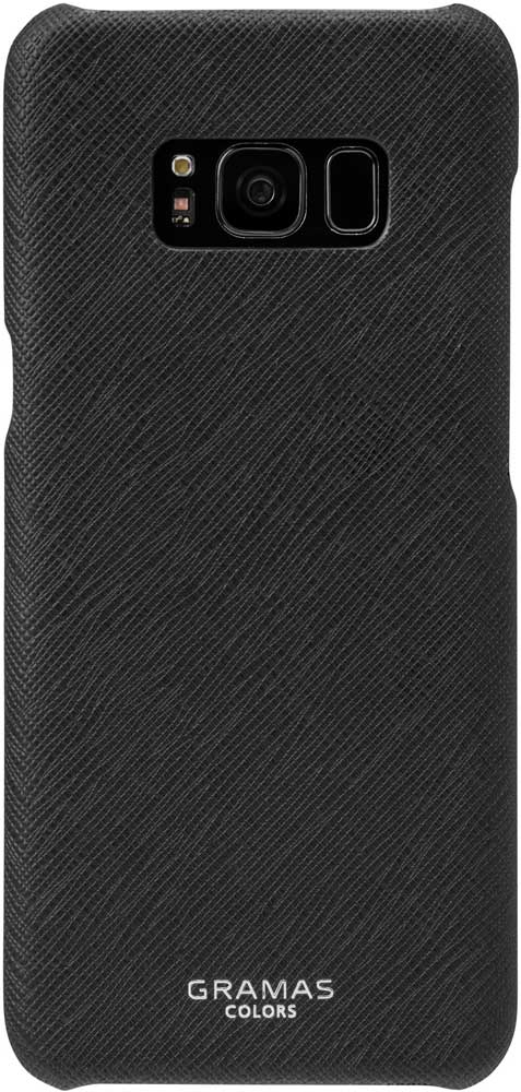 Клип-кейс Gramas Samsung Galaxy S8 сафьяно Black samsung galaxy s8 sm g950 black