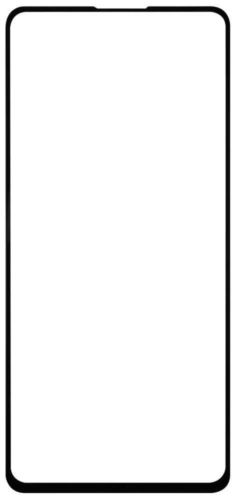 Стекло защитное RedLine Samsung Galaxy A51 2.5D FG черная рамка 2 шт фото