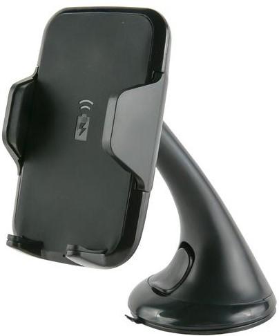 Держатель автомобильный RedLine HQi-02 с функцией беспроводной зарядки Black фото