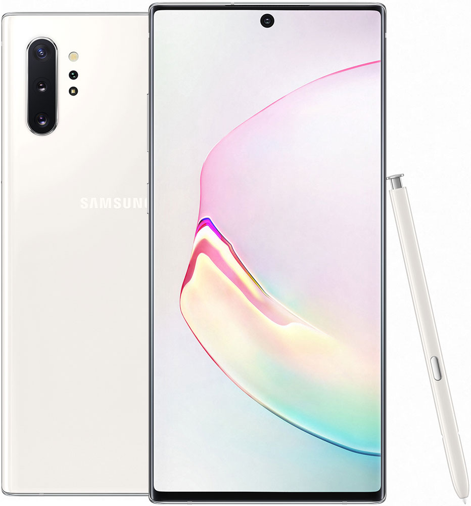 Смартфон Samsung N975 Galaxy Note 10+ 12/256Gb Белый фото
