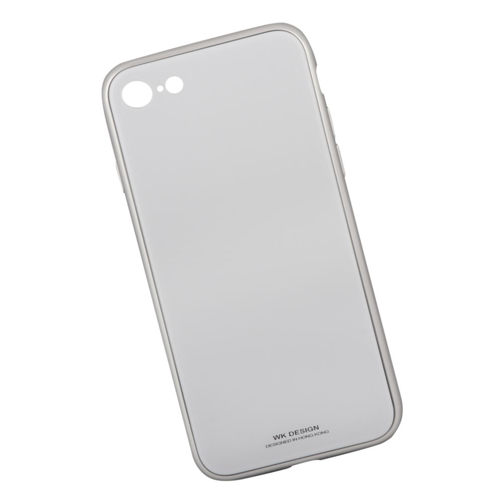 где купить Клип-кейс Berkin для Apple iPhone 8 Glass white по лучшей цене