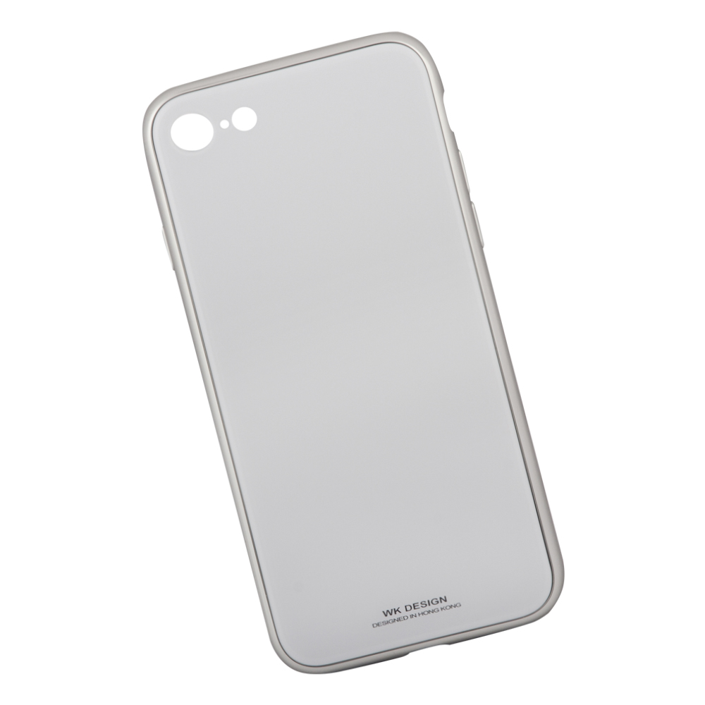 Клип-кейс Berkin для Apple iPhone 8 Glass white