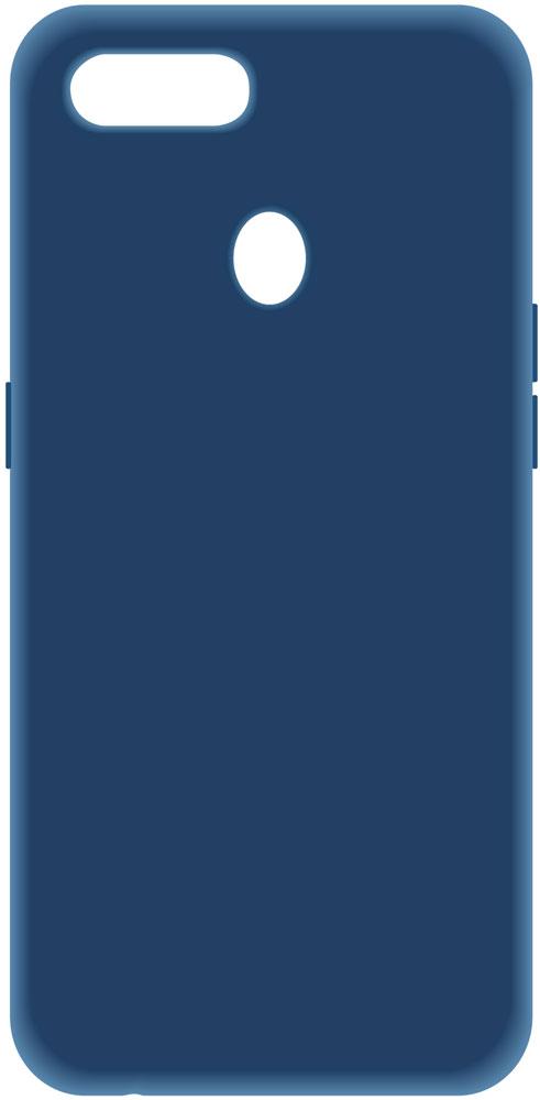 Клип-кейс LuxCase Oppo A5s пластик Blue фото