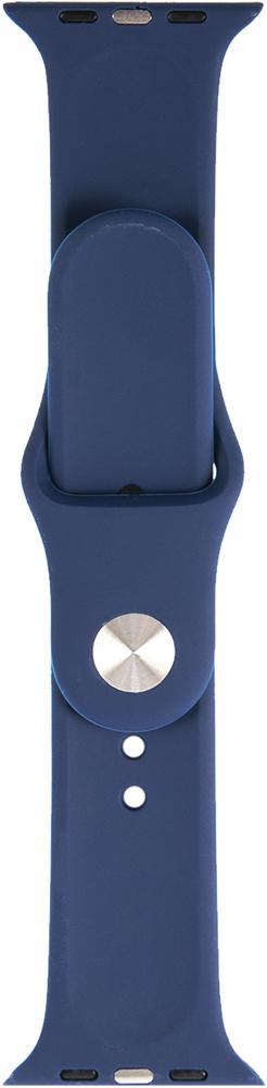 Ремешок для умных часов RedLine Apple Watch 38/40мм силиконовый Blue