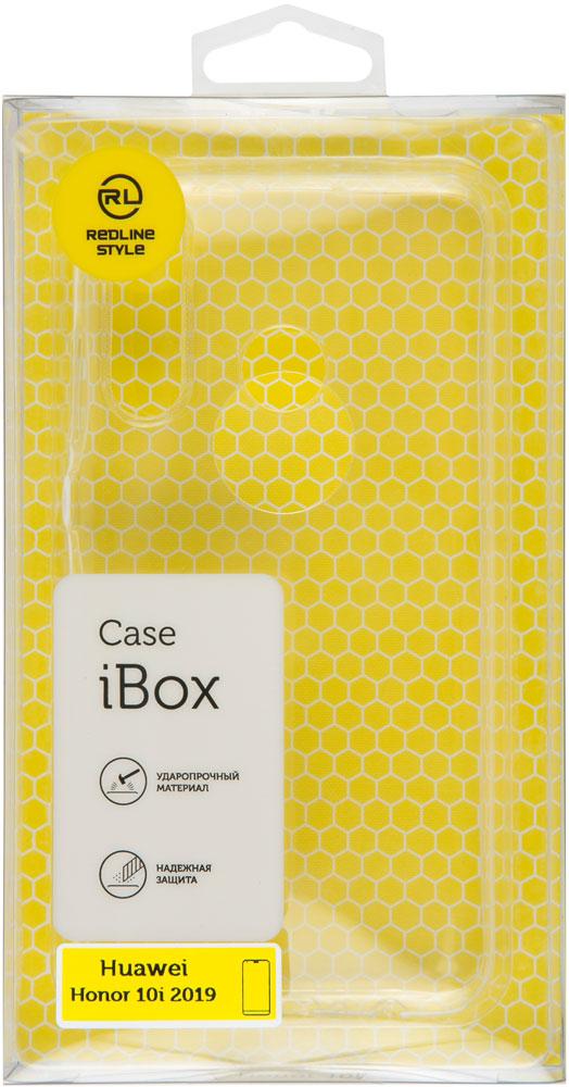Клип-кейс RedLine iBox Honor 10i силикон прозрачный чехол клип кейс redline ibox crystal для asus zenfone 2 laser ze500kl синий [ут000007893]