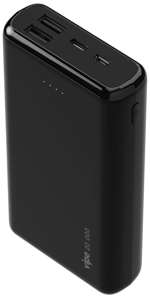 Внешний аккумулятор Vipe Infinity 20000mAh 2.4A Black фото