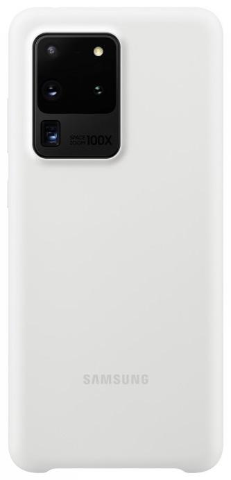 Клип-кейс Samsung Galaxy S20 Ultra силиконовый White (EF-PG988TWEGRU ) фото
