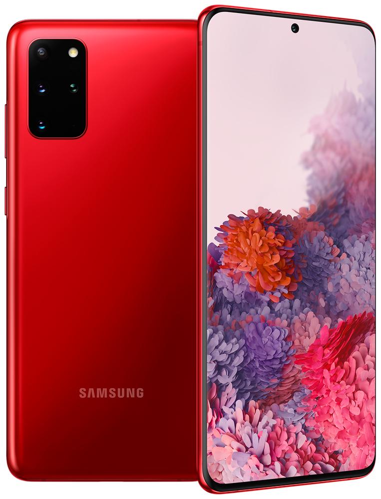 Смартфон Samsung G985 Galaxy S20+ 8/128Gb Red фото
