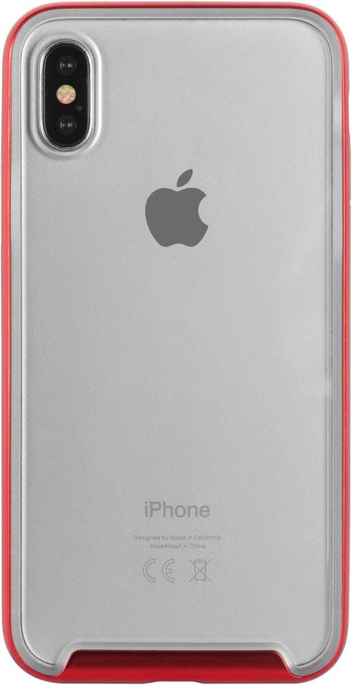 Фото - Клип-кейс Hardiz Defense iPhone X Red объектив