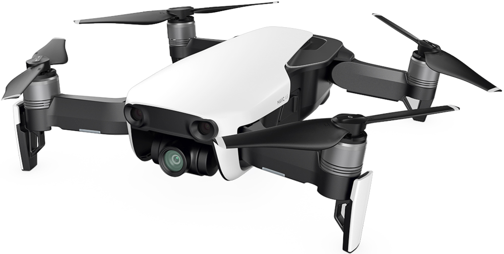 Квадрокоптер DJI Mavic Air White квадрокоптер dji mavic air fly more combo eu onyx black