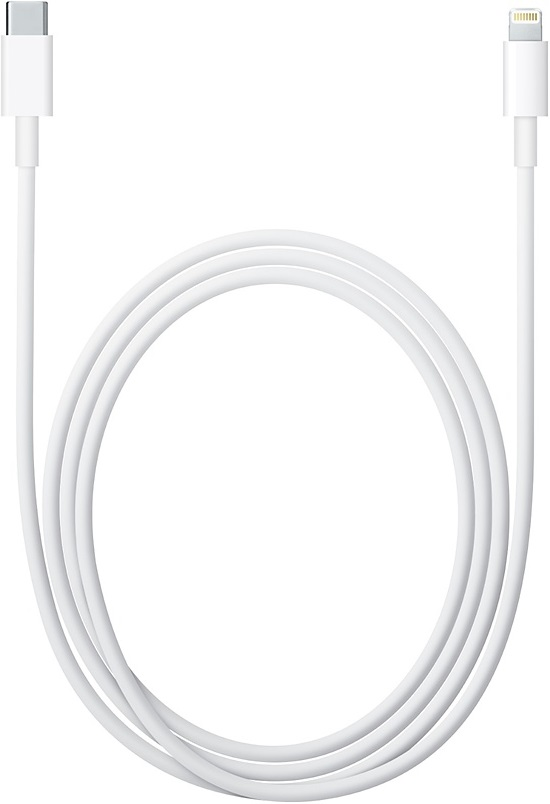 Адаптер Apple Lightning to USB-C Cable 2m White адаптер apple usb c to usb mj1m2zm a