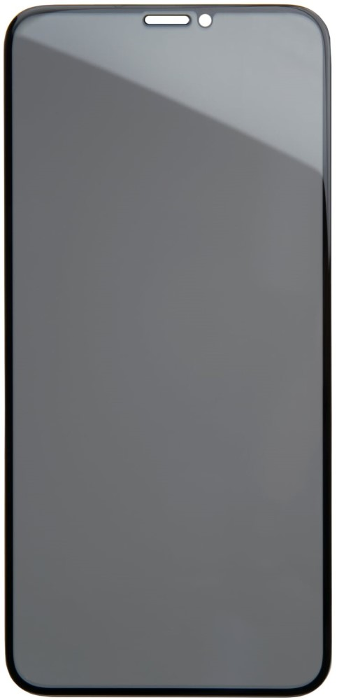 Стекло защитное RedLine iPhone 11 Pro Max 3D Privacy черная рамка стекло защитное redline iphone 11 pro 3d silicone frame черная рамка