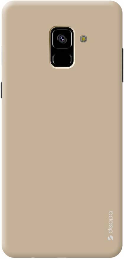 Клип-кейс Deppa Air Case Samsung Galaxy A8 2018 Gold