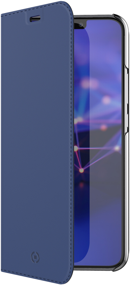 Чехол-книжка Celly для Huawei Mate 20 blue смартфон huawei mate 20 t045340 midnight blue