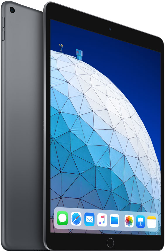 "Планшет Apple iPadAir 2019 Wi-Fi 10.5"" 64Gb Space Grey (MUUJ2RU/A)"