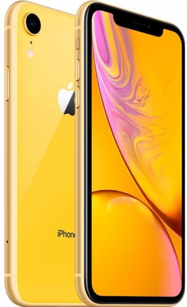 Смартфон Apple iPhone XR 128Gb Yellow (Жёлтый) фото