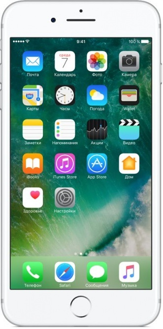 Фото - Смартфон Apple iPhone 7 Plus 32GB Silver (MNQN2RU/A) объектив