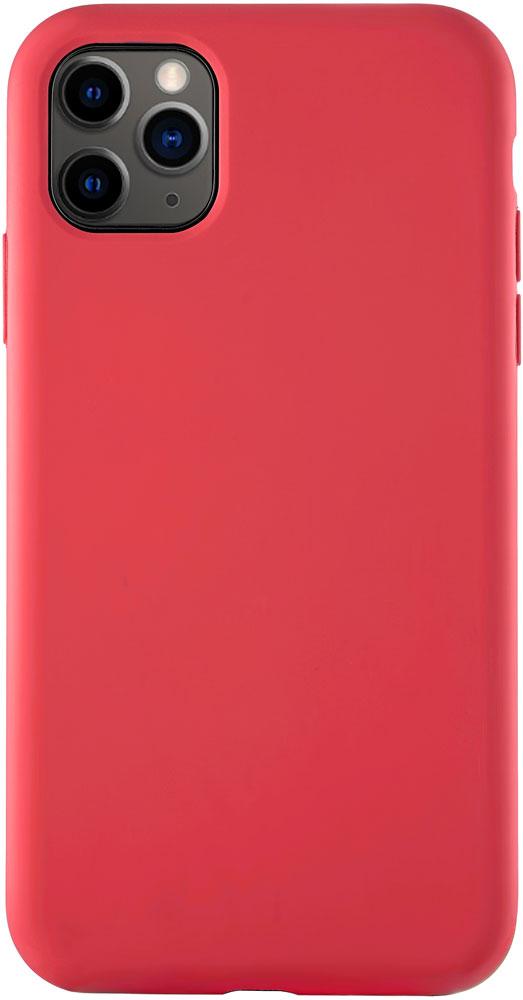 Клип-кейс uBear iPhone 11 Pro Max liquid силикон Red фото