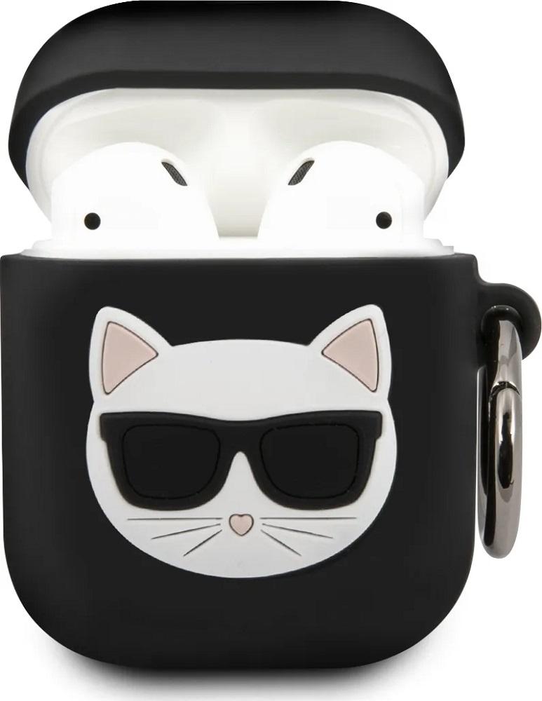 Чехол Karl Lagerfeld Airpods 2 Choupette Black