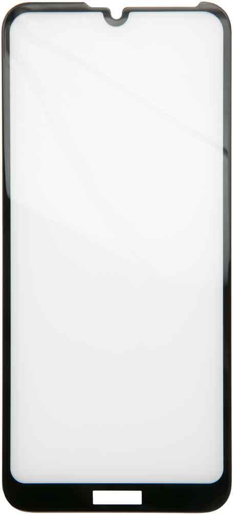 Стекло защитное RedLine Huawei Y6 2019 3D Full Glue черная рамка фото