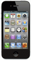 фото Смартфон Apple iPhone 4 black 16Gb