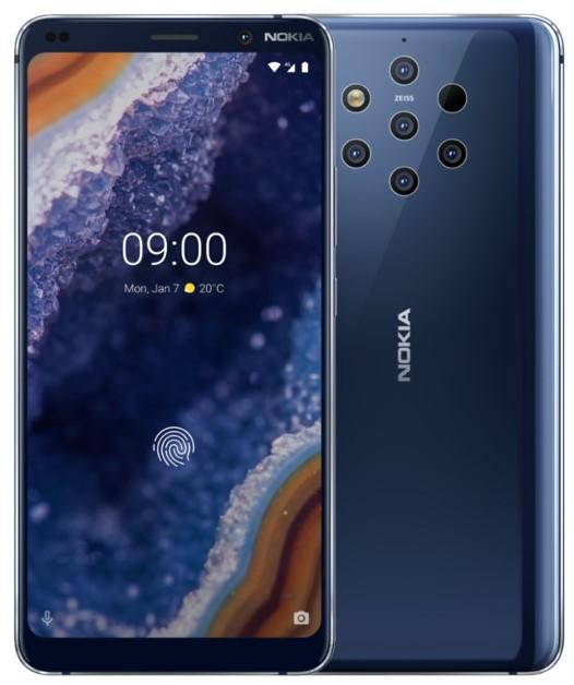Смартфон Nokia 9 PureView Blue цена