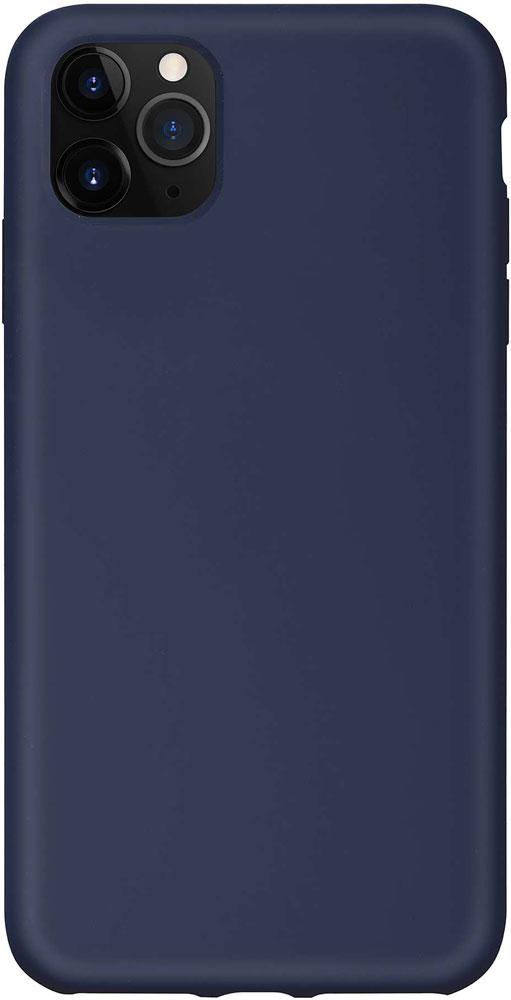 Клип-кейс Hardiz iPhone 11 Pro Max liquid силикон Navy Blue фото