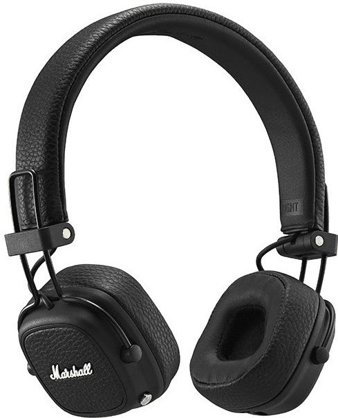 Наушники с микрофоном Marshall Major III Bluetooth накладные Black гель для душа 250 мл adidas гель для душа 250 мл