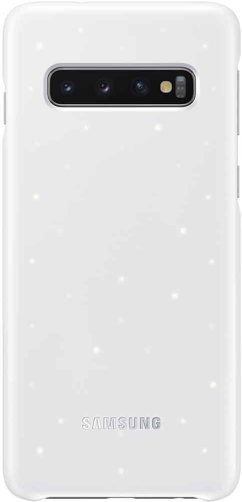 Клип-кейс Samsung Galaxy S10 LED EF-KG973C White клип кейс samsung galaxy s10 led ef kg973c black