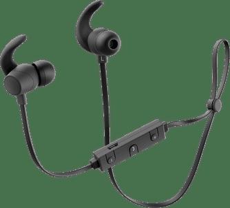 Беспроводные наушники с микрофоном PrimeLine Bluetooth XB-FIT black цена и фото