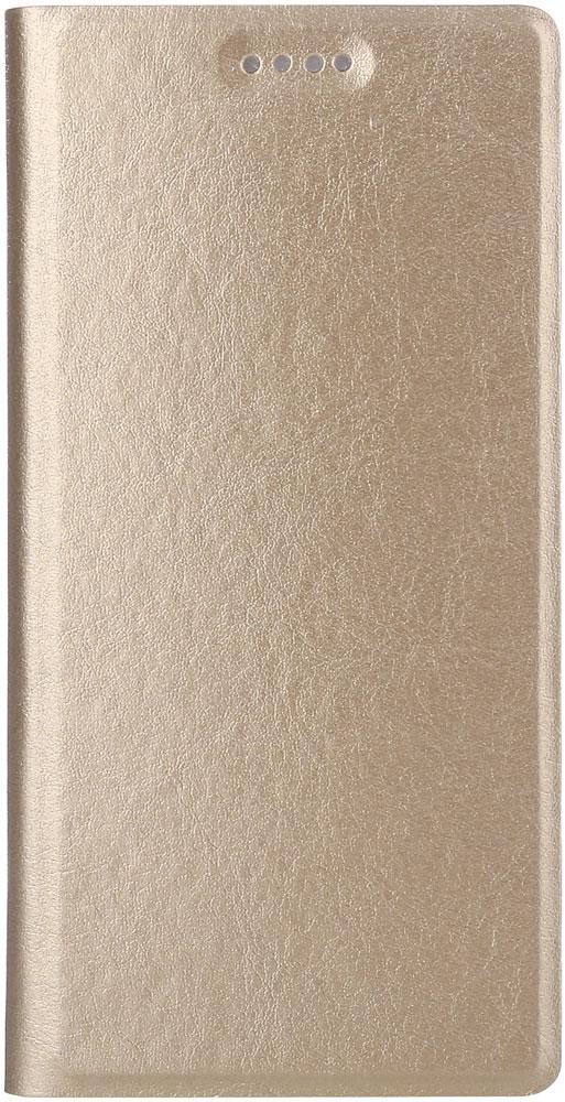 Чехол-книжка Vili Huawei Y3 2017 Gold смартфон huawei y3 2017 grey